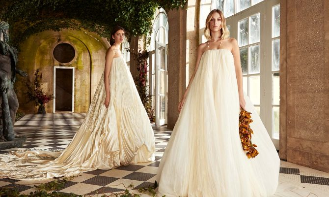 Danielle Frankel, the refreshingly sophisticated New York bridal brand fashion girls are falling for will be available to buy for the first time in the U.K.