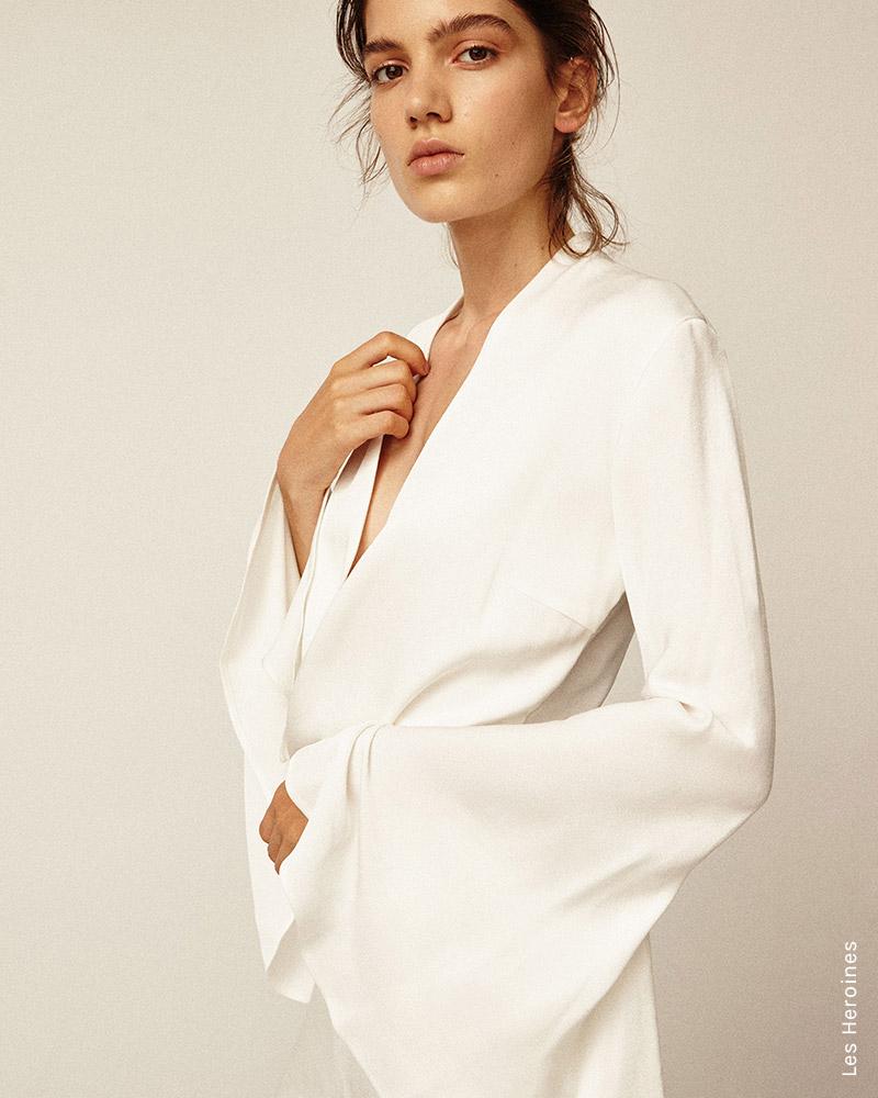 Vanessa Cocchiaro, the Australian-born, Paris based fashion stylist behind Les Héroïnes shares why she launched her own bridesmaid line, via White Dossier