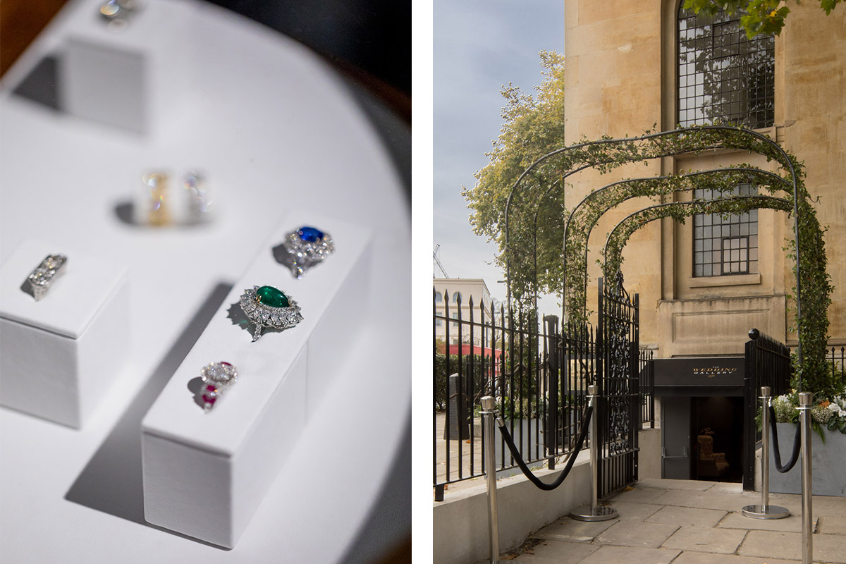 White Dossier at The Wedding Gallery in Marylebone, London, is the world's first luxury wedding department store for wedding planning, inspiration and shopping.