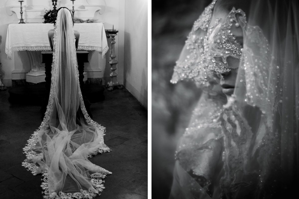 Daphne Newman veils, White Dossier designer