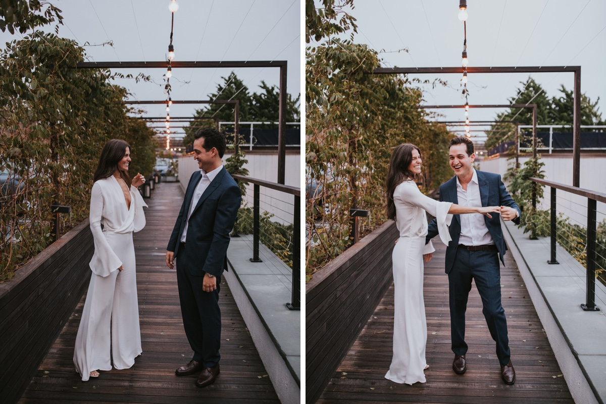 Real Bride Samantha Klein in Les Heroines in The Hamptons New York by White Dossier